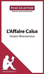 L'Affaire Caïus d'Henry Winterfeld: Résumé complet et analyse détaillée de l'oeuvre (Fiche de lecture) (French Edition)