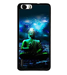 printtech Lord God Buddha Back Case Cover for Huawei Honor 6 Plus