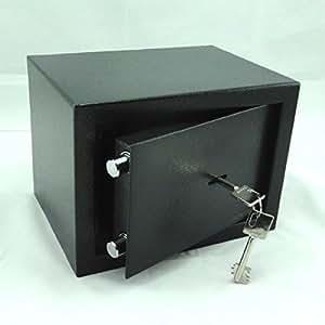 tresor safe m beltresor doppelbart schl ssel ca 6 l anthrazit baumarkt. Black Bedroom Furniture Sets. Home Design Ideas