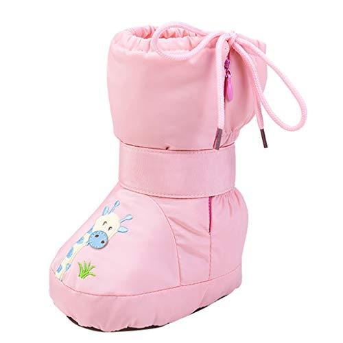 WEXCV Baby Mädchen Schuh Krabbelschuhe Jungen Lauflernschuhe Winter Warme Kleinkind Schuhe Antirutsch Babyschuhe Weiche Flache Reißverschluss Schnürsenkel Freizeitschuhe