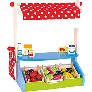 Goki 51707 Juego de rol - Juegos de rol (Compras, Estuche de Juego, 3 año(s), Niño, Niño/niña, Multicolor)