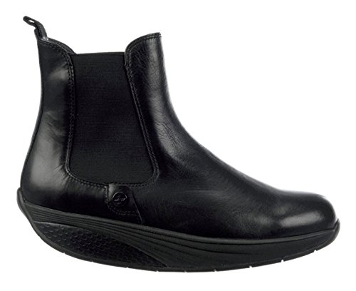 MBT Asha, Sneaker a Collo Alto Donna black calf (700725-03C)