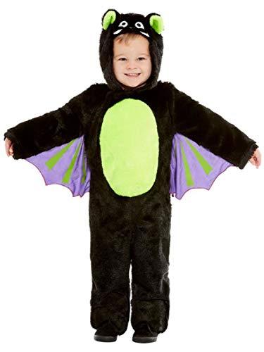 Kostüm Und Gruselige Niedliche - Fancy Me Kostüm für Kleinkinder, Jungen, Mädchen, niedlich, gruselig, schwarz, Fledermaus, Halloween-Kostüm, 1-4 Jahre