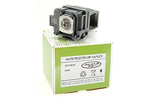 Alda PQ-Premium, Beamerlampe / Ersatzlampe für EPSON 1262W, 1263W, 955W, 99W, EB-940, EB-945, EB-950W, EB-955W, EB-965, EB-97, EB-98, EB-S03, EB-S17, EB-S18 Projektoren, Lampe mit Gehäuse