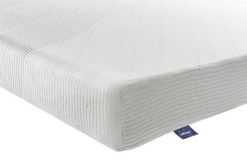 Silentnight 3-Zone Memory Foam Rolled Mattress - Double