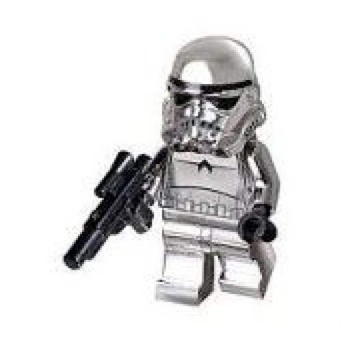 Chrome Stormtrooper (Lego 10th Anniversary Limited Edition [2009]) Lego Star Wars Minifigure by LEGO (Star Wars 2009 Lego)