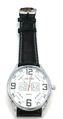 Orologio aviatore della aviazione marina militare pilot watch (aviator bianco)
