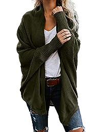 baac9e63bdeea DEELIN Nouveau Mode Casual Femmes Chandail Cardigan Outwear À Manches  Longues Lâche Solide Couleur Tricot Manteau