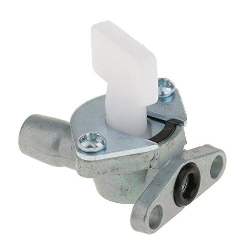 inhahn Umschaltpumpe Für 49ccm 2 Takt Motor Mini Motor Motorisiertes Fahrrad Silber ()