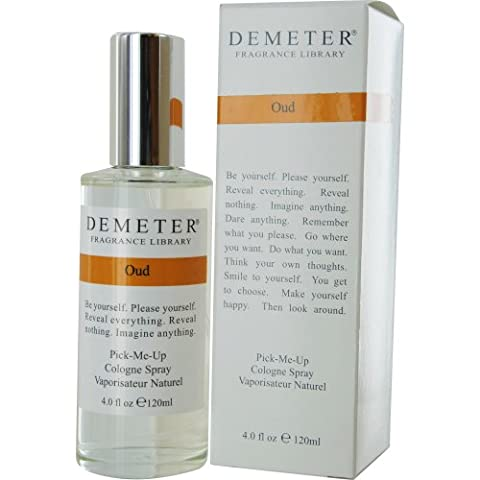 Demeter Cologne Spray, Oud, 4 Ounce by Demeter