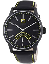 Esprit Men's Quartz Watch Moody ES103651005 with Leather Strap