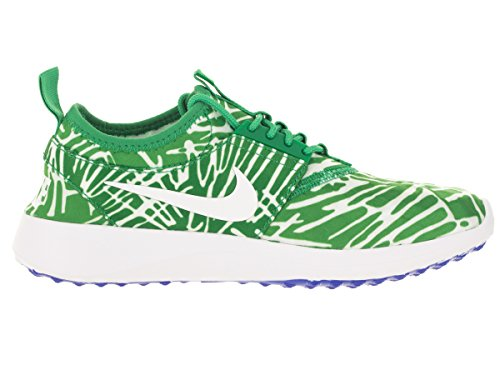 Nike Wmns Juvenate Print, Chaussures de Sport Femme, Taille Vert - Verde (Spring Leaf / White-Racer Blue)