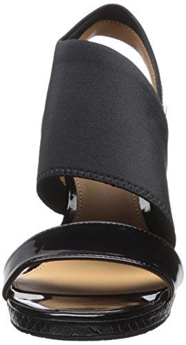 Calvin Klein Bryley Femmes Synthétique Sandales Compensés Black