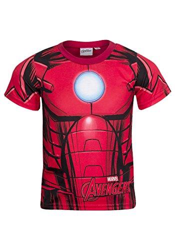 Super Hero -  T-shirt - Collo a U  - Maniche corte  - ragazzo Ironman 6 Anni