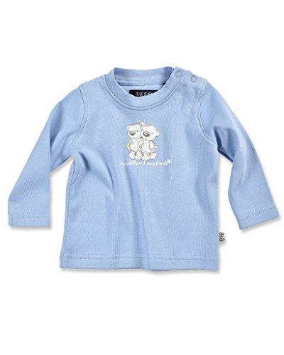 Blue Seven Langarmshirt Hellblau Pullover für Jungen mit 2 Bären (68)