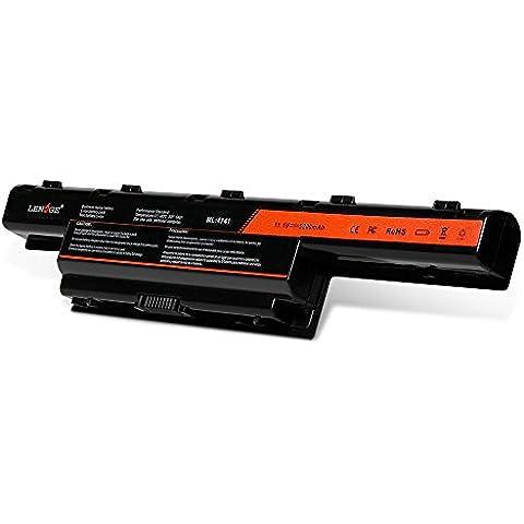 LENOGE Nueva portátil batería para Acer Aspire 4253 4551 4552 4738 4741 4750 4771 5251 5253 5336 5349 5551 5552 5560 5733 5733Z 5741 5742 5750 5750G 5755 7551 7552G 7560 7741 7741Z 7750 7750G Acer TravelMate 4740 4740G 5735 5735Z 5740 5740G Gateway NV55C NV53A NV59C 18 Meses de