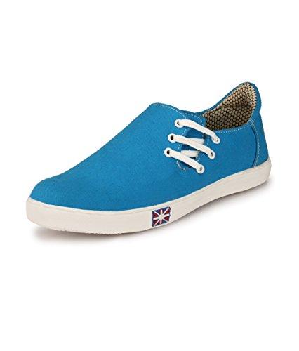 Rosso Italiano Men's Blue Casual Loafers Shoe (ril499bu103) 9