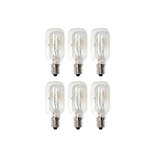 Salz-Lampe, Produkte BL1–15t7Glühbirne & Appliance T7mit Leuchter Boden, klares Licht, 15W, 6Stück