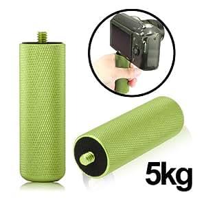 Poignee de main stabilisateur d'Grip pour reflex DSLR (vert clair)