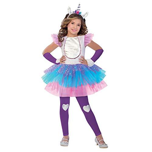 Magisches Einhorn Kostüm Kinder Mädchen Amscan