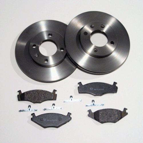 Bremsscheiben belüftet/Bremsen + Bremsbeläge vorne