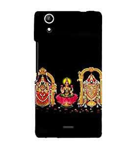 printtech Indian Gods Lord Back Case Cover for Micromax Canvas Selfie Lens Q345