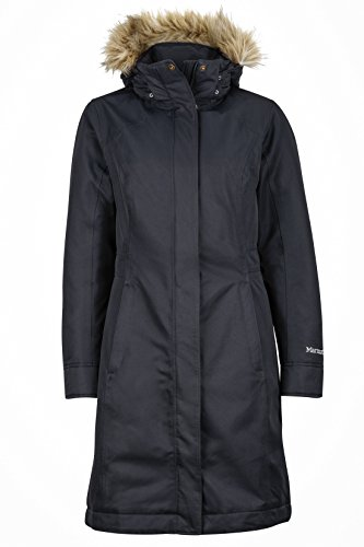 Marmot Damen 76560-001 Chelsea Coat, Black, L (Von Marmot Down Coat Womens)