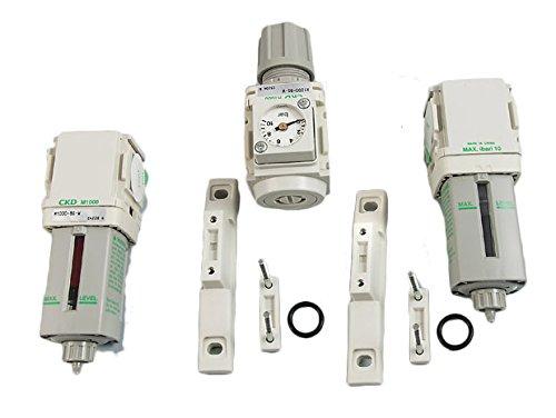 CKD F,R,M,Bx2 1000 Filtersatz Luftfilter Wasserabscheider Öler Druckminderer 1/4
