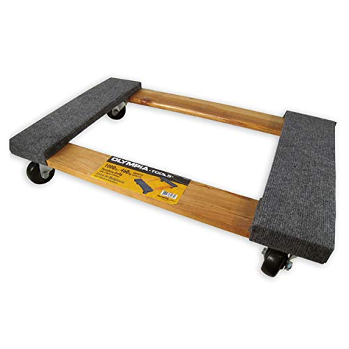 Olympia Tools 85-185 Furniture Dolly with 4 Swivel Casters