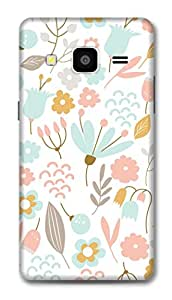 Samsung On7 Pro Designer Hard-Plastic Phone Cover From Print Opera -Floral