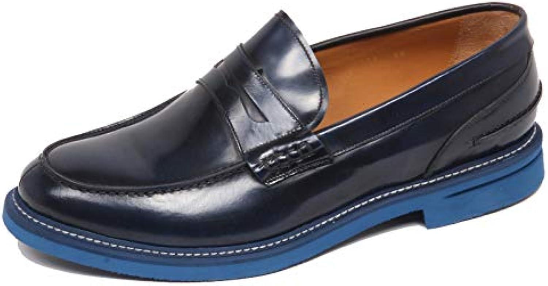 Altieri F4944 Mocassino Uomo Blu Milano Scarpe scarpe Loafer Man | Diversi stili e stili  | Uomo/Donne Scarpa
