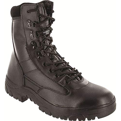 Highlander Mens Delta Military Leather Lace Up Winter Walking Boots Mens Lace Up Stiefel