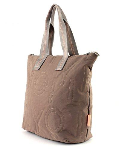Oilily - Spell Shopper Lvz, Borse a spalla Donna Beige (Taupe)