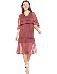 9cca49b476 Amazon.in  OXOLLOXO - Dresses   Dresses   Jumpsuits  Clothing ...