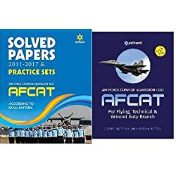 ARIHANT AFCAT BOOK WITH PRACTICE SOLVED PAPER