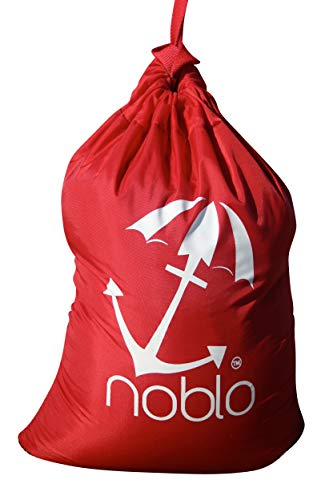 noblo Regenschirm Buddy - einfach Strandschirm Anker, rot