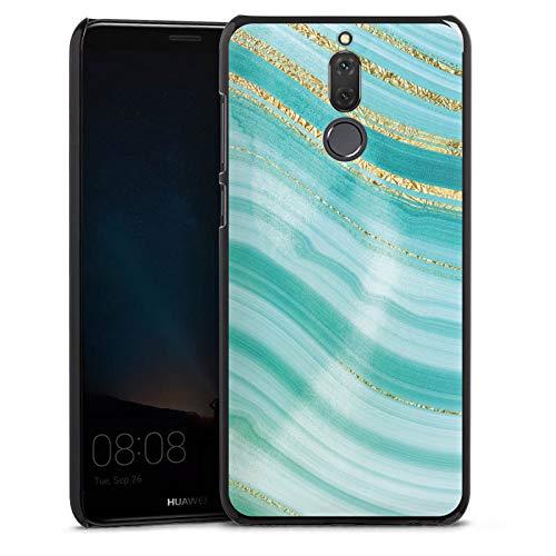 DeinDesign Hülle kompatibel mit Huawei Mate 10 lite Handyhülle Case Edelstein Kristall Marmor Look