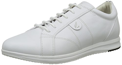 Geox D Avery A, Sneakers Basses Femme Blanc (Whitec1000)