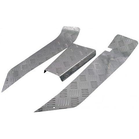 Pignone SIP 3pezzi, lamiera striata, in PK XL2modelli Zerbino rimuovere in plastica.