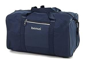 Benzi Sac De Voyage Ryanair Conforme Second Main Bagages 35 x 20 x 20cm - Bleu Marine/Blanc, Small