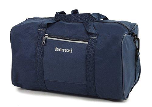 benzi-reisetasche-ryanair-kompatibel-zweite-hand-gepack-35-x-20-x-20cm-marineblau-weiss-s