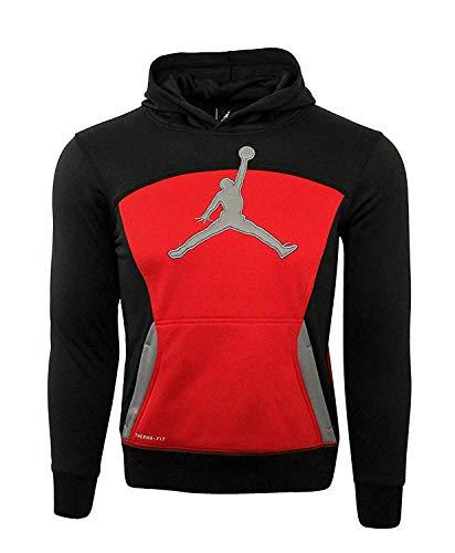 Nike Jordan Flight WARP Speed Hoodie Pullover Youth Boys (M 10-12) (Flight Jordan 11)