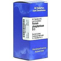 Biochemie 3 Ferrum phosphoricum D 3 Tabletten 80 stk preisvergleich bei billige-tabletten.eu