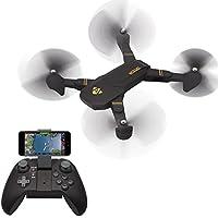 Auntwhale XS809W 2.0MP 4 Axis Quadcopters Aircraft Set High Wifi Imagen Sync Cámara Drone