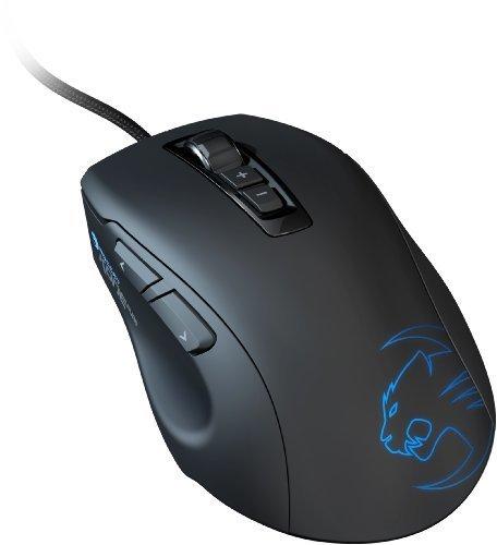 ROCCAT by Fiducia B-Ware Kone Pure Gaming Mouse Maus 8200 DPI Pro Aim (R3) Laser Sensor USB kabelgebunden + Gratis Fiducia Mauspad