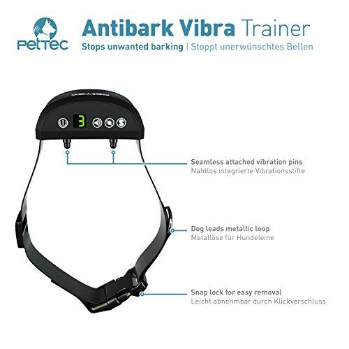 Zoom IMG-2 pettec antibark vibra trainer collare