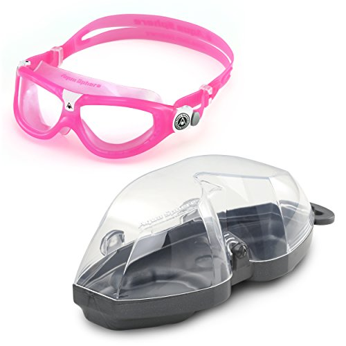 0724a2510ab1 Aqua Sphere Seal 2 Regular, Occhialini da Nuoto Bambino, Rosa-Pink/Clear  Lens, Taglia Unica