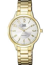 0b00b6534afa Q Q - Reloj de Pulsera analógico para Mujer (Mecanismo de Cuarzo)
