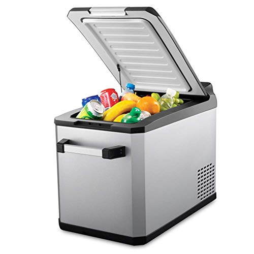 Frigorifero per auto Peaceip Outdoor portatile 32L grande capacità mini frigorifero/congelatore congelato congelato partizione può essere ghiacciato display digitale intelligente per auto,