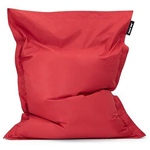 Bean Bag Bazaar Bazaar Bag - Ladrillo Rojo, 180cm x 140cm, Puf Gigante